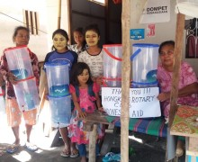 Water Filters in Palu, Indonesia
