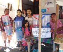 Water Filters in Palu, Indonesia