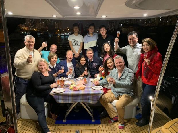 Lunar New Year boat trip
